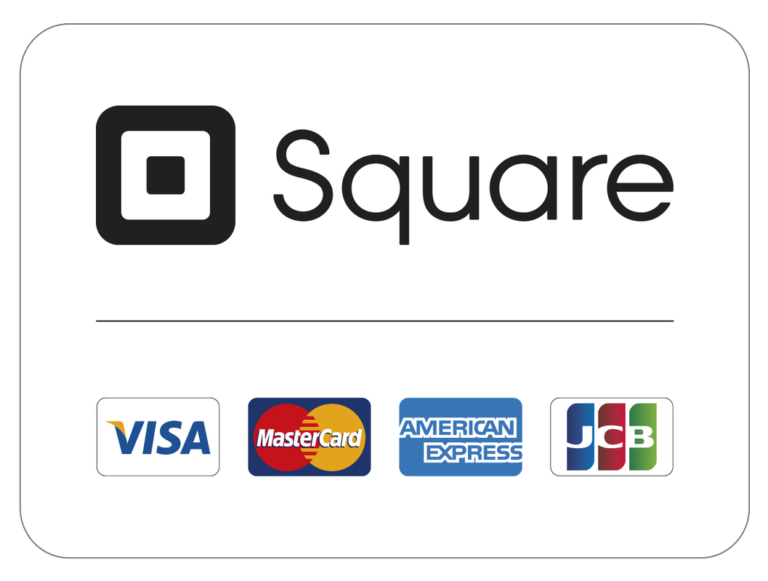 Payments Can Be Made via All Major Credit Cards