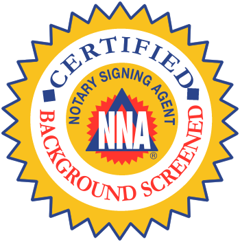 Certified and background screened notary signing agents